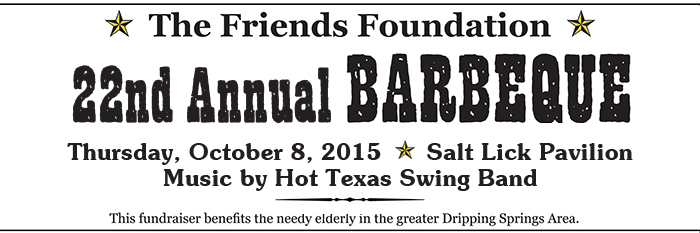 Friends Foundation BBQ at the Salt Lick